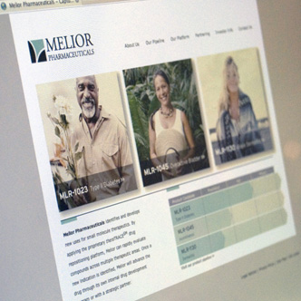 Melior Pharmaceuticals Website